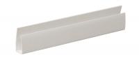 Окончание ПВХ FineLine Белый 3м 10 мм (1уп=30шт)