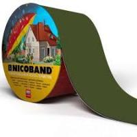 NICOBAND зеленый 0,15*3м лента-герметик битумно-полимерная с защитой от УФ