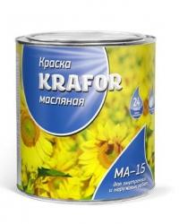 Краска МА-15 KRAFOR бежевая 2,5кг