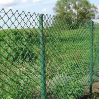 Сетка пластиковая яч. 40*40мм, шир.1,5м (10м) зеленый