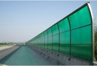 Поликарбонат зеленый ширина 2100мм, толщина 4мм