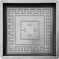 Плитка тротуарная орнамент ГОТИКА-Т Разм.300*300*30