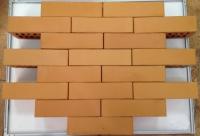 Кирпич керамический одинарный цвет солома М125 (Размер 65*120*250мм. Вес 2,4кг.) Липецкий з-д