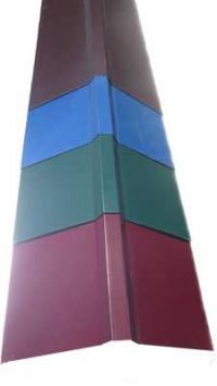 Конек на крышу зеленый RAL-6005 (финский) Размер 200*200*2000мм