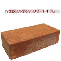 Кирпич рядовой красный полнотелый М200 Размер 65*120*250мм. Вес 3,5кг. Тульский