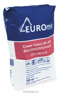 Сухая смесь Евростандарт М300 Пескобетон 50кг