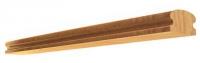 Поручень деревянный разм. 3000*70*40мм (для балясины 45мм)