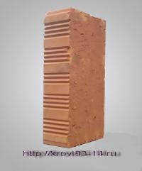 Кирпич ряд. красный полнотелый М-150 Разм. 65*120*240мм. Вес-3,5кг. Липковский з-д (400шт/под.)