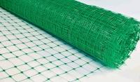 Сетка пластиковая яч. 50*50мм, шир.1м (20м) зеленый