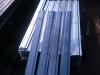 Штакетник металл П-образный оцинкованный р. 1500*150мм