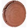Люк полимерно-композитный легкий 730*60 мм коричневый 3т.