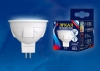Лампа светодиод.Яркая 6Вт GU5.3 4000K Uniel UL-00002422