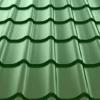 "Металлочерепица монтеррей"" зеленая RAL 6005 размер 3650 *1180 *0,45мм"""