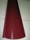 Желоб сливной вишневый RAL 3005 L 2000*125мм