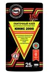 Клей для плитки ЮНИС - 2000 (особопрочный), вес 25 кг