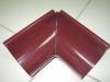 Желоб угловой внешний вишневый RAL 3005 d-125
