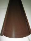 Желоб сливной т.коричневый L 1250*125мм.