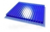 Поликарбонат синий толщина 4мм, ширина 2100мм
