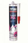 Клей вместо гвоздей TYTAN Classic fix прозрачный каучуковый 310мл