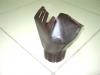 Воронка выпускная d-100мм т.коричневая