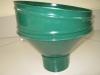 Воронка круглая сливная т.зеленая D-100мм