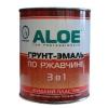 Грунт-эмаль ALOE 3в1 жидкий пластик ЖЕЛТАЯ  3 кг