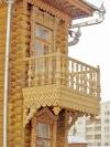 Балясина деревянная РИМ ВИТОЙ разм. 900*45*45мм сорт А