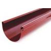 Желоб сливной вишневый RAL 3005 L 3000*125мм