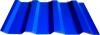 Проф.лист МП-20 синий RAL-5005 размер 1800*1160*0,4мм