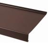 Отлив оконный коричневый  L2000* 50мм RAL 8017