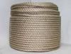 Веревка джутовая 3-прядная d=10мм