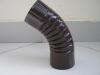 Колено трубы d-100мм  т.коричневое