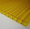Поликарбонат желтый  (Шир. 2100мм., толщ.6мм.)