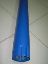 Труба водосточная синяя L2000мм d-100мм RAL-5005
