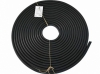 Шланг поливочный резиновый черный 12-15м, 20мм