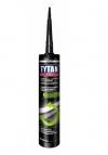 Герметик кровельный TITAN битумно-каучук. черный 310мл