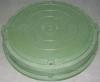 Люк полимерно-композитный легкий 730*60 мм зеленый, 3т