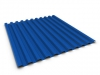 Проф. лист С-21 синий RAL 5005  размер 6000*1050*0,45мм