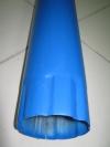 Труба водосточная синяя L1000мм d-100мм RAL-5005