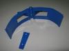 Крепеж трубы синий D-100мм RAL-5005