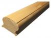 Поручень деревянный разм. 3000*70*45мм (для балясины 50мм)
