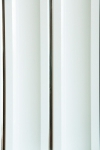 Панель ПВХ Декор панель 2-секц. серебро (белый) 0,2*3м (1уп=10шт/6м2)