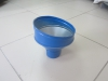 Воронка круглая  синяя RAL-5005 D-100мм