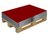 Гладкий лист вишня RAL 3005 разм. 1250*1500*0,4мм