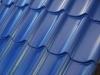 "Металлочерепица монтеррей""синяя RAL 5005 размер 3650*1180*0,45мм"""