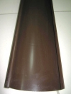 Желоб сливной т.коричневый L 2000*125мм