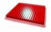 Поликарбонат красный толщ. 4мм, шир. 2100мм