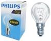 Лампа нак.Philips P45 40W E14 CL(миньон)шарик прозрачный