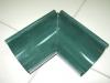Желоб  угловой внешний т.зеленый d-125